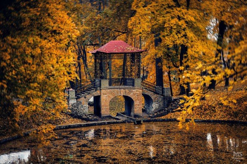 Осенний Китайский мостик - Сергей Мельниченко