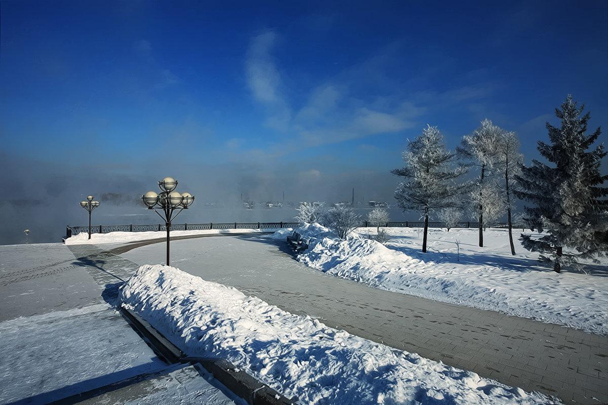 Город морозный и тихий - Александр | Матвей БЕЛЫЙ