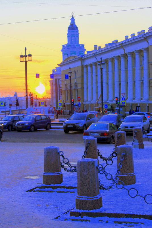 ЗИМНИЙ САНКТ-ПЕТЕРБУРГ - Николай Гренков