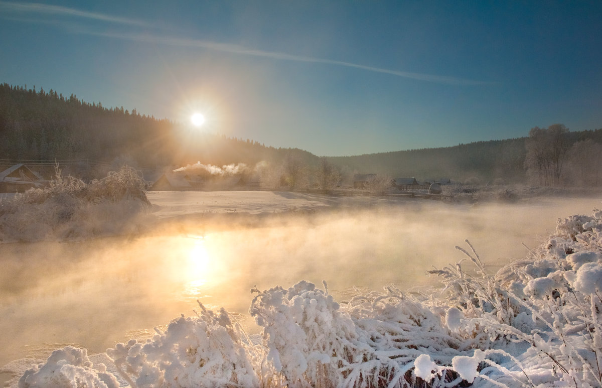 Морозное утро - Владимир Чуприков
