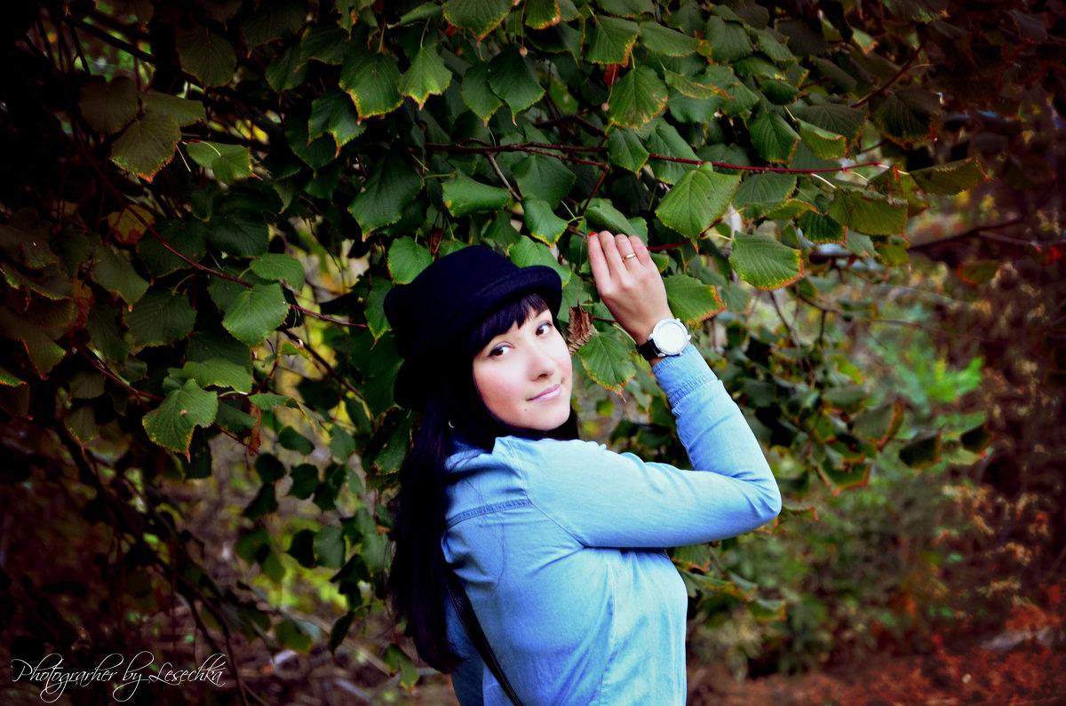 Осенняя фотосъемка - Олеся Никонова