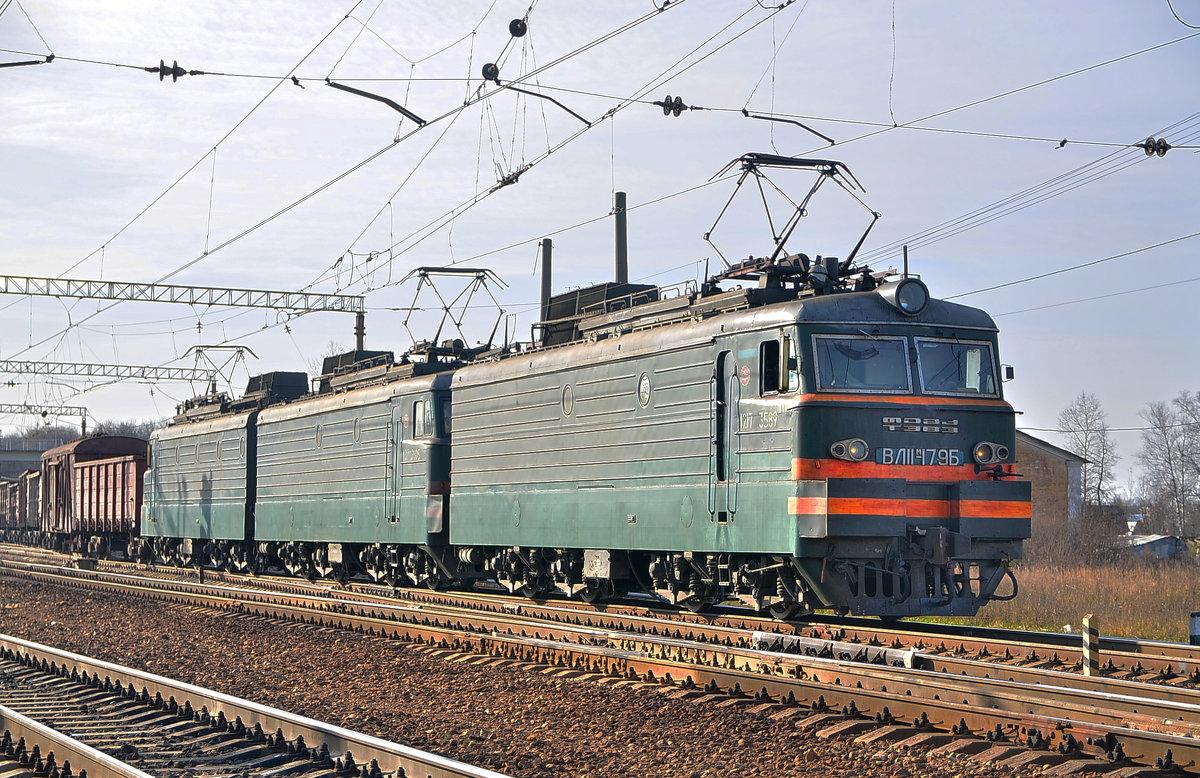 Электровоз ВЛ11М-179 - Денис Змеев
