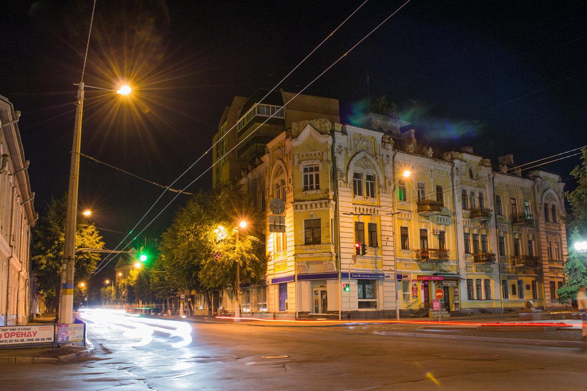 Ночной город. - Наталья Лысенко