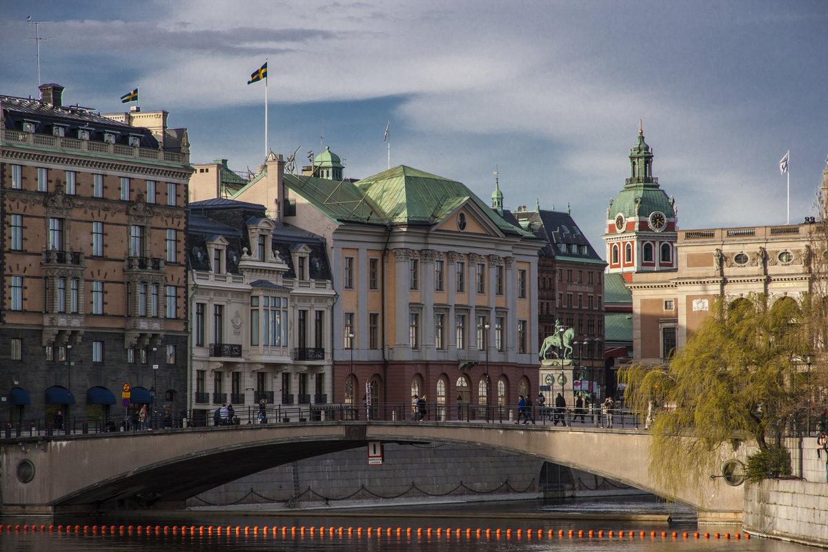 Стокгольм-город мостов - liudmila drake