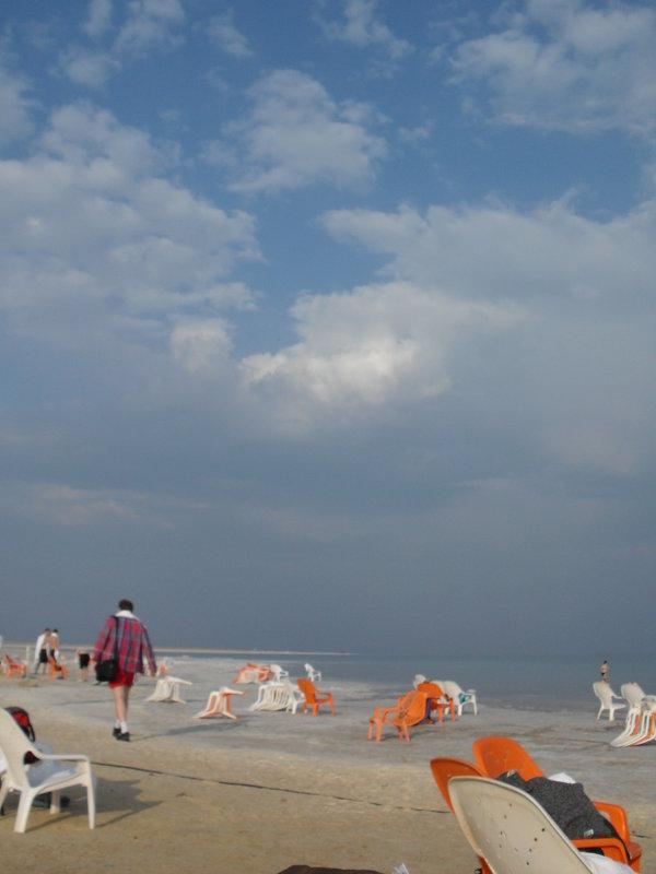 На  Мёртвом море - Надежда