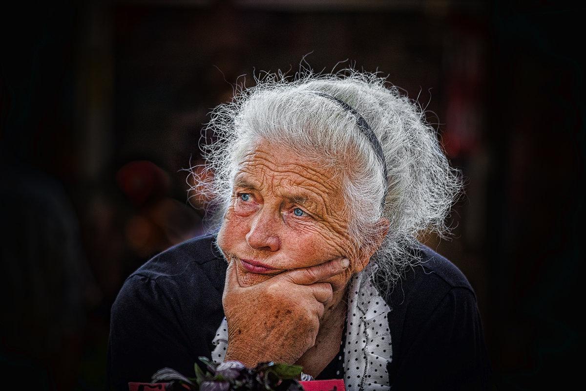 Портрет зеленщицы. - Павел Петрович Тодоров