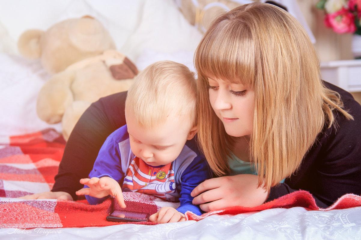 Мама и сын - Надежда Торопова