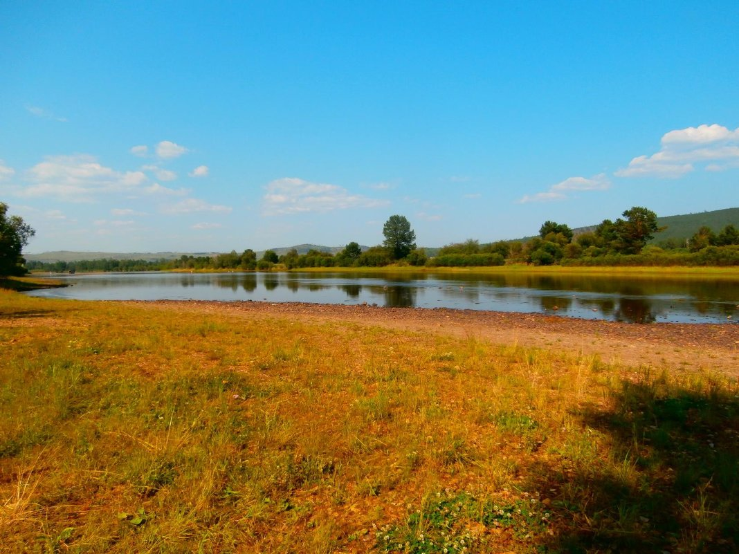 Река Хилок.Забайкалье - Елена Фалилеева-Диомидова