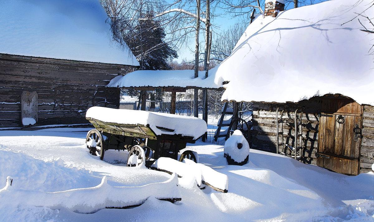снегом замело... - мирон щудло