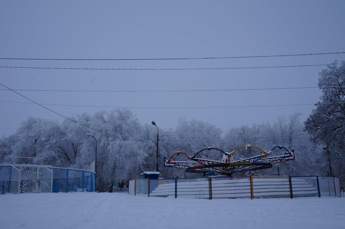 Безмолвный парк - Оля Сухинина