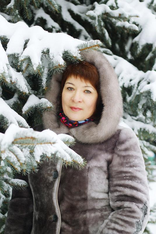 В заснеженном парке - Татьяна Киселева