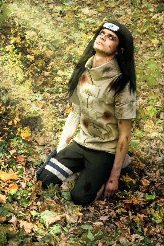 Неджи после битвы - Инна Грушовенко