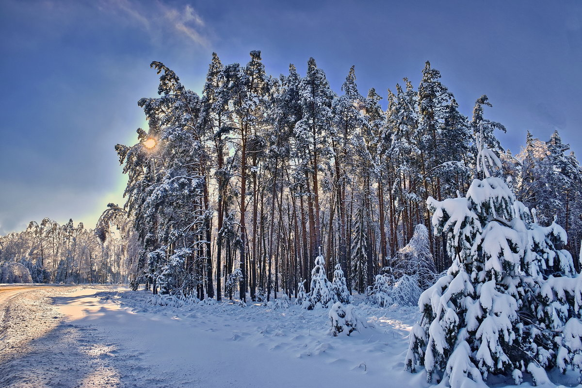 Зима. - Валера39 Василевский.