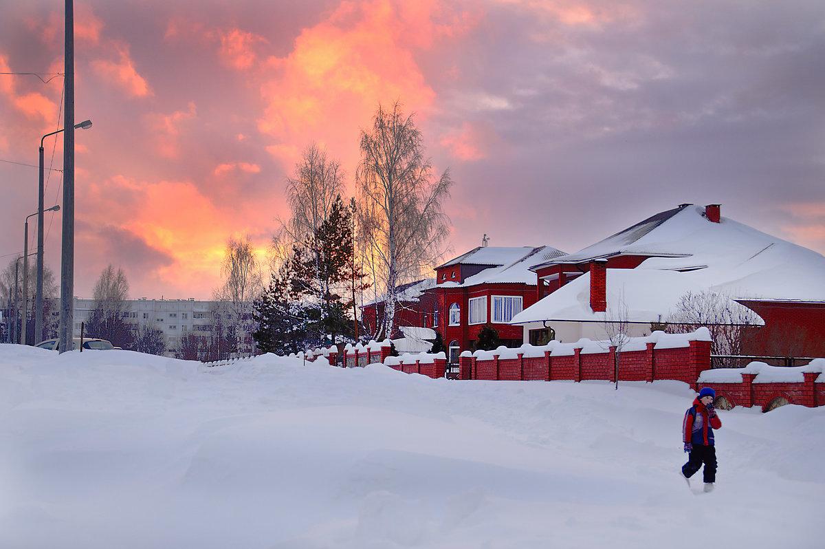 Зимний закат... - Владимир Хиль