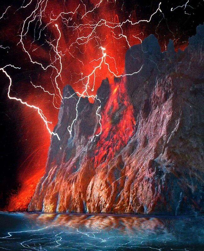 Извержение Карадага... - viton