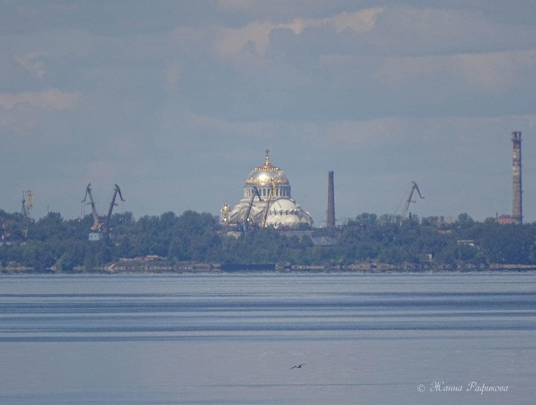 Взгляд из Петергофа на Кронштадт - Жанна Рафикова