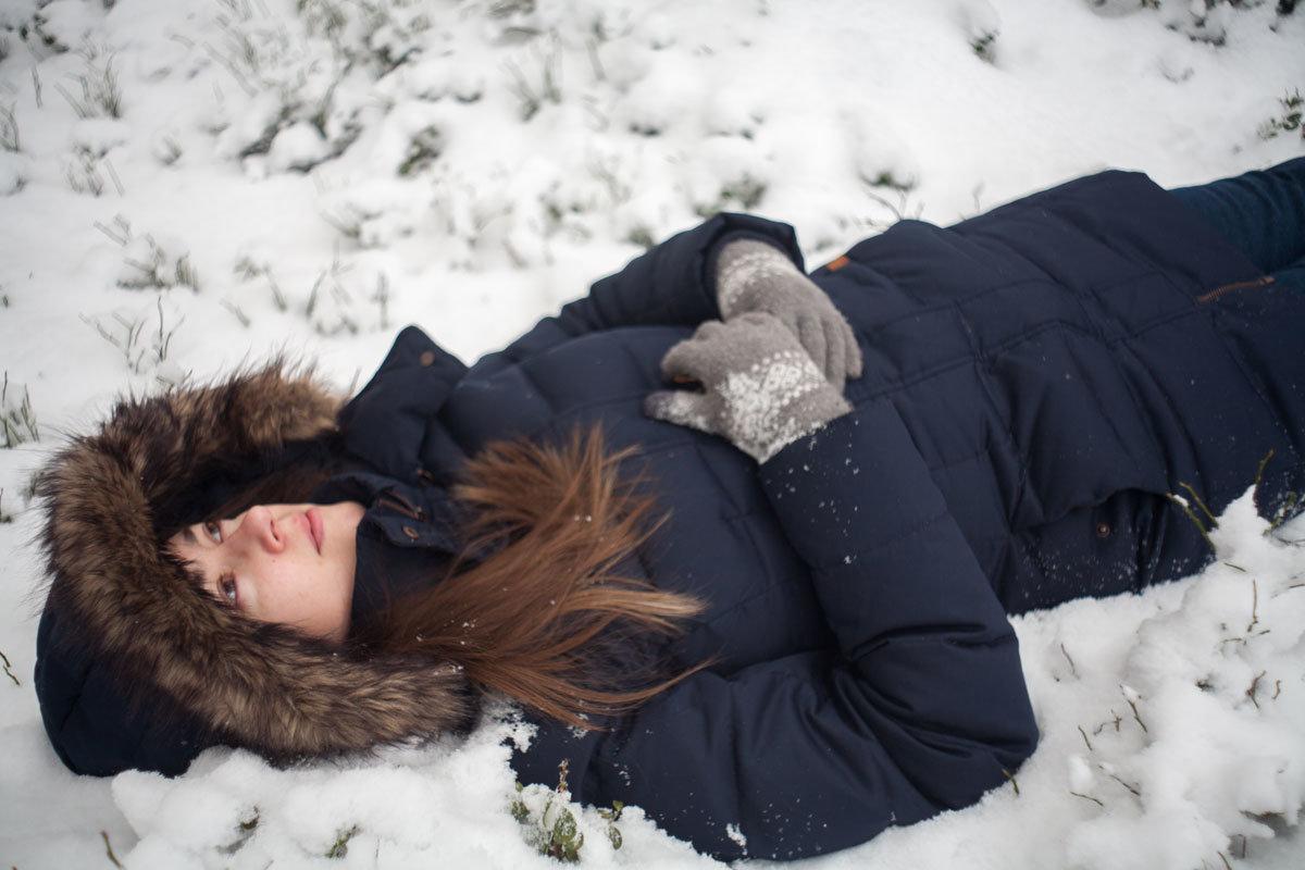 на снегу - Витя Ярмолинский