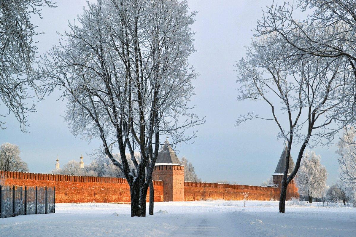 Зимний Смоленск - Милешкин Владимир Алексеевич