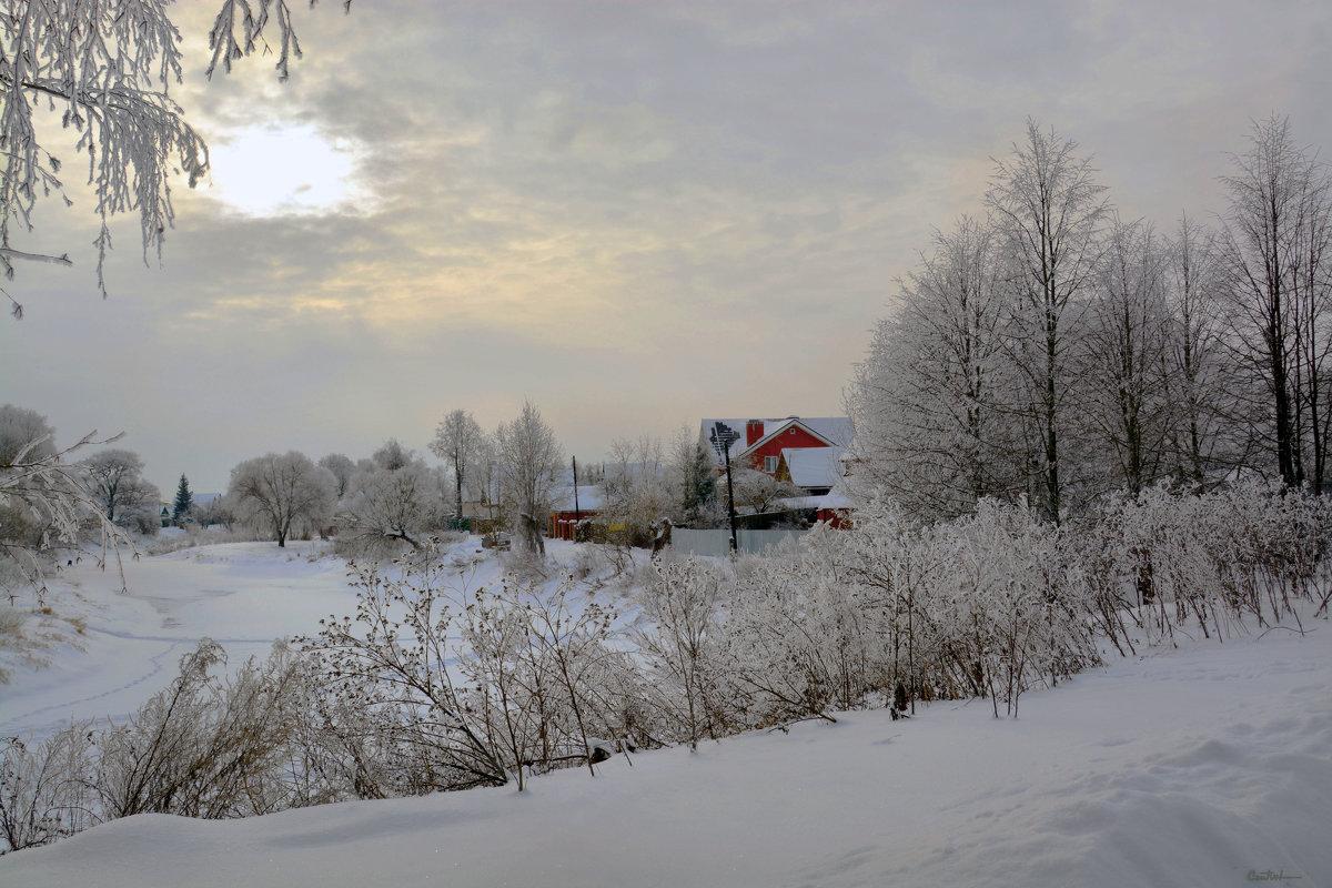 Над Гжатью - зима - Юрий