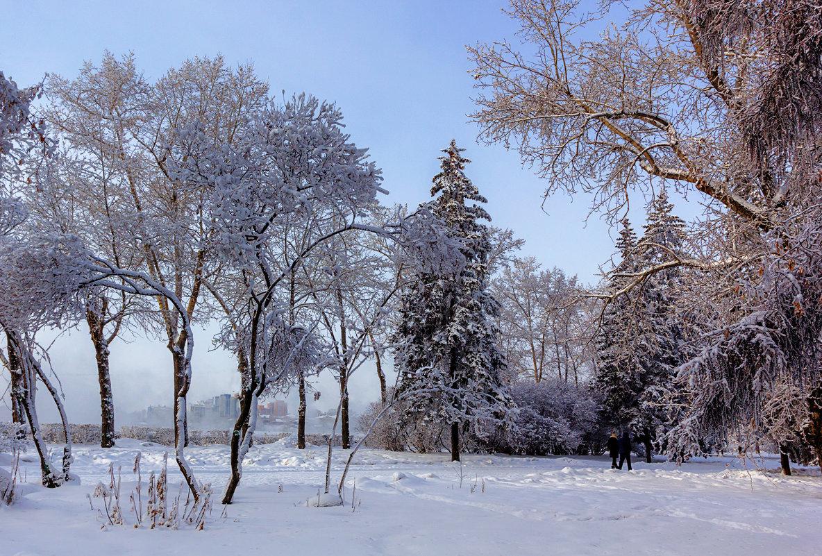 Зимний бульвар - Анатолий Иргл