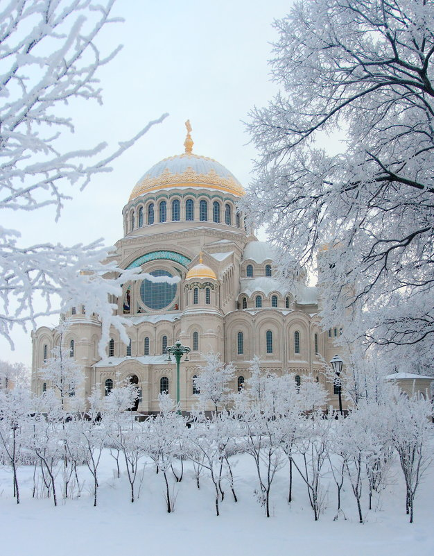 Зима в Кронштадте - Сергей Григорьев