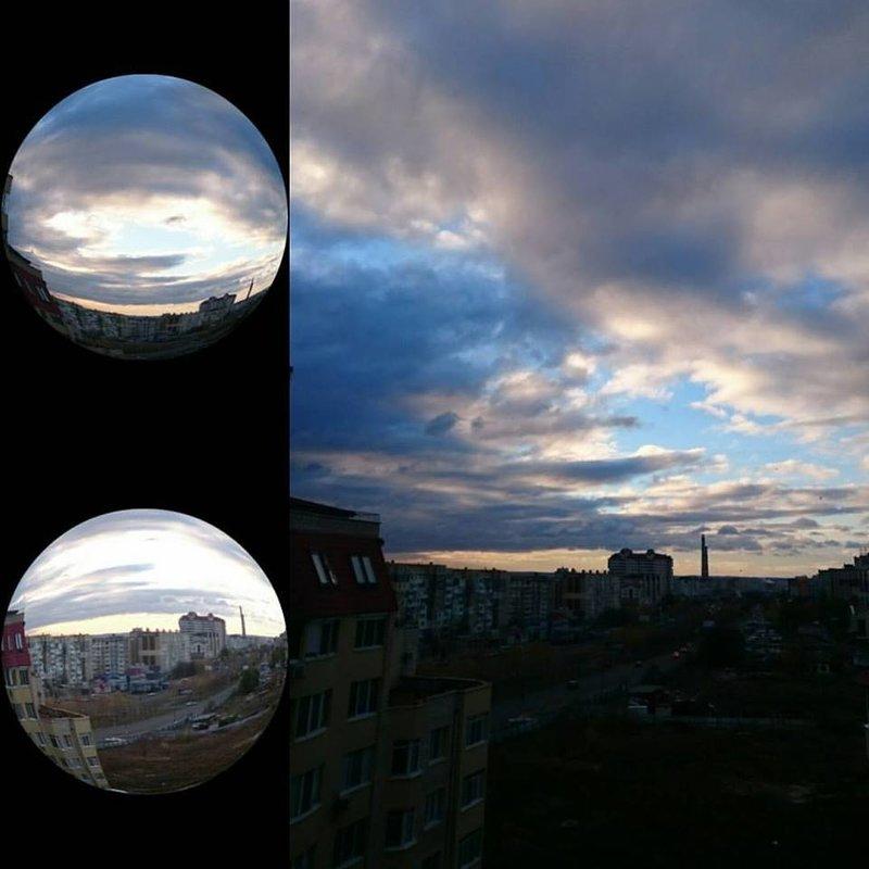 НЕБО   РАССВЕТ  ПРИРОДА - natalia
