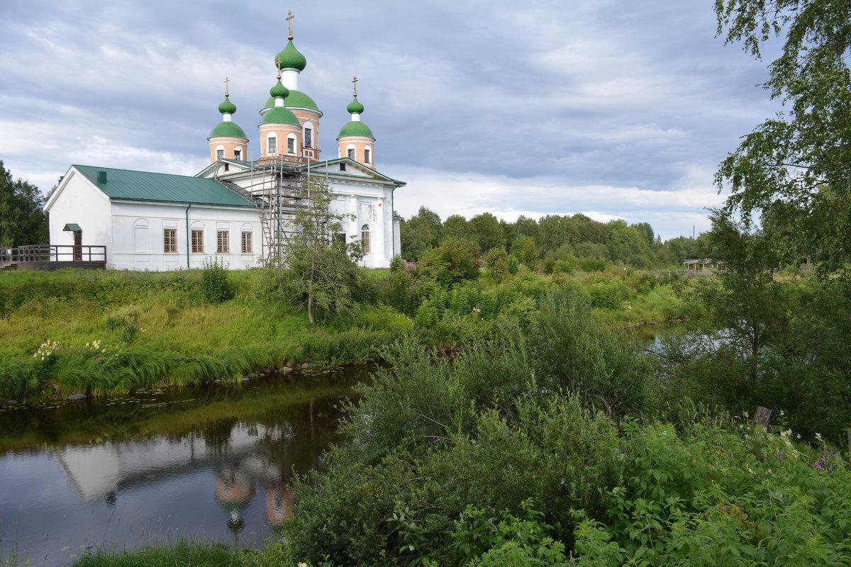Смоленский собор в Олонце - Ирина Михайловна