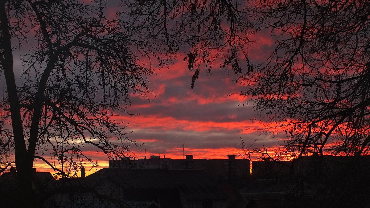 зимний вечер за окном - Александр Прокудин