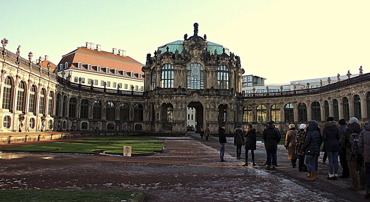 Дрезденская картинная галерея - Ольга