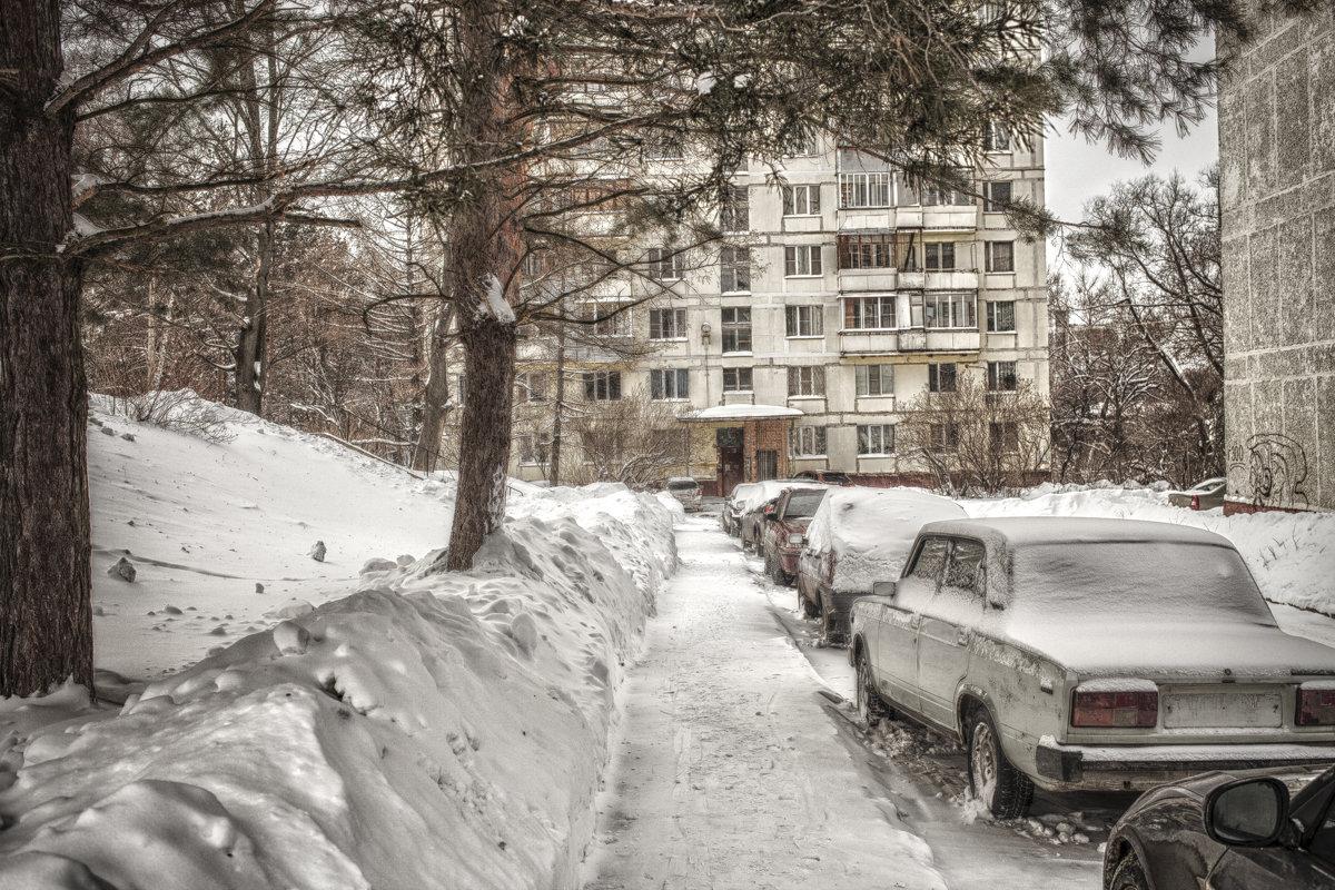 Зима в городе - Андрей Михайлин