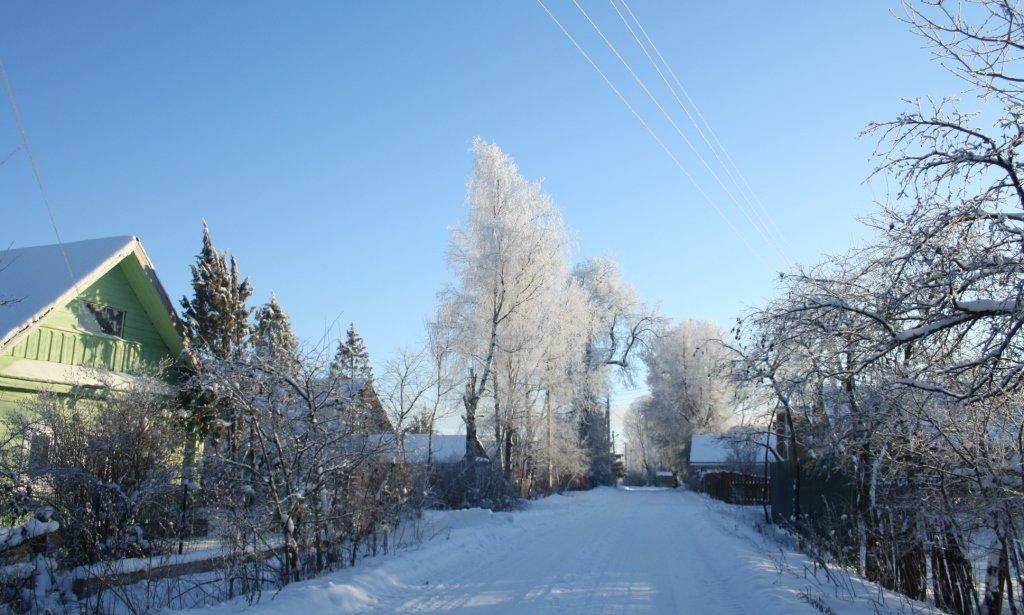 Деревенская улица - Наталия Зыбайло