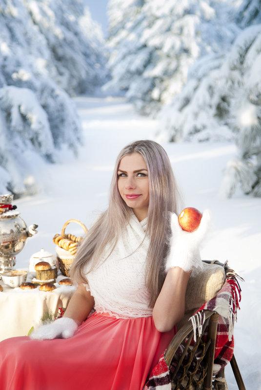 Рождественский лес - Наталья Лебедева