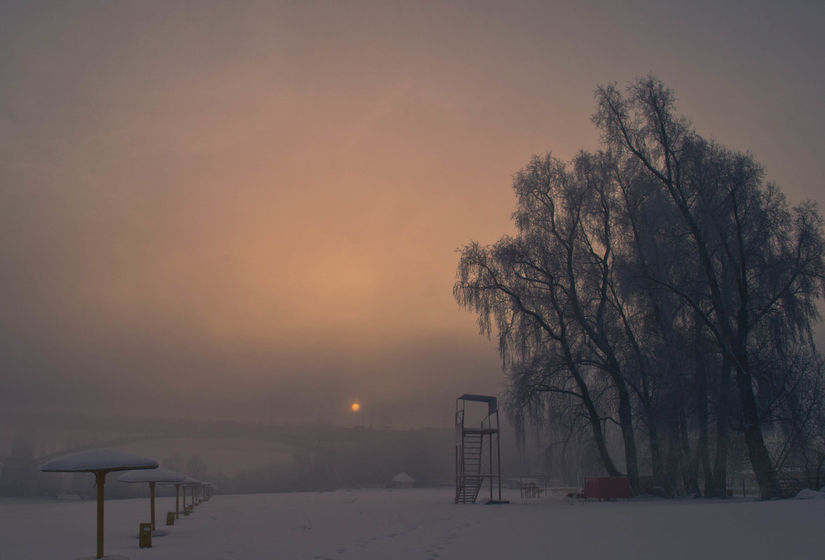 Туманное утро. - cfysx