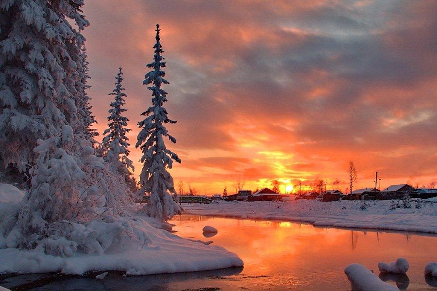 вечерние краски зимы - Александр