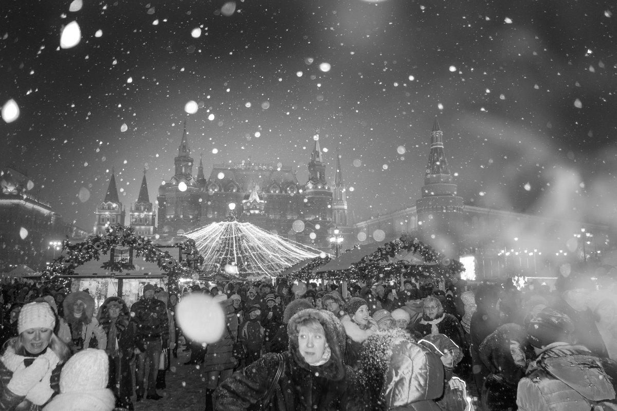 Москва новогодняя. - Алексей Окунеев