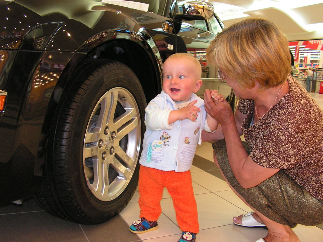 Бабушка - купи машинку! - Андрей Алефиренко
