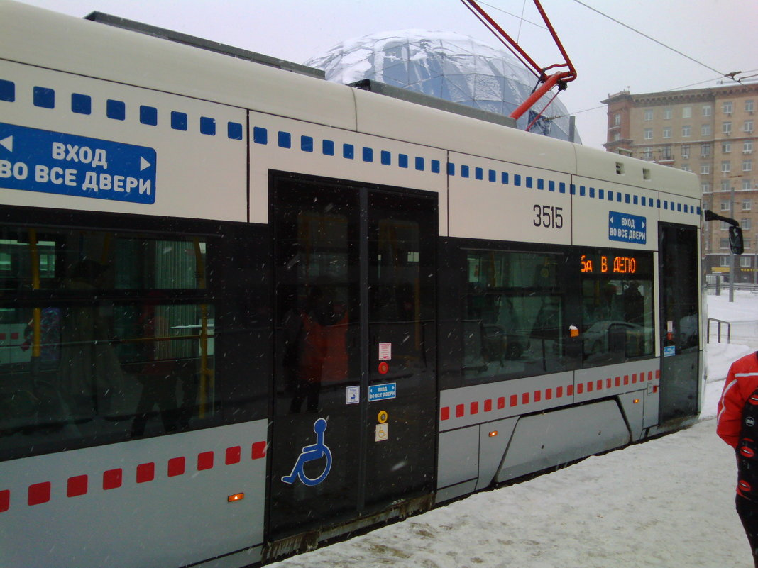 Зима в Москве - Владимир
