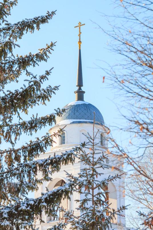 Свято-Никольский храм,колокольня - Ирина Kачевская