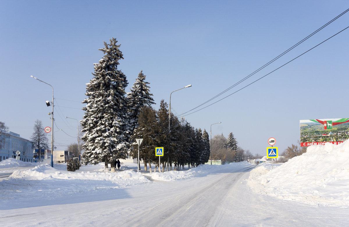 В городе Д зимой... - Андрей Студеникин