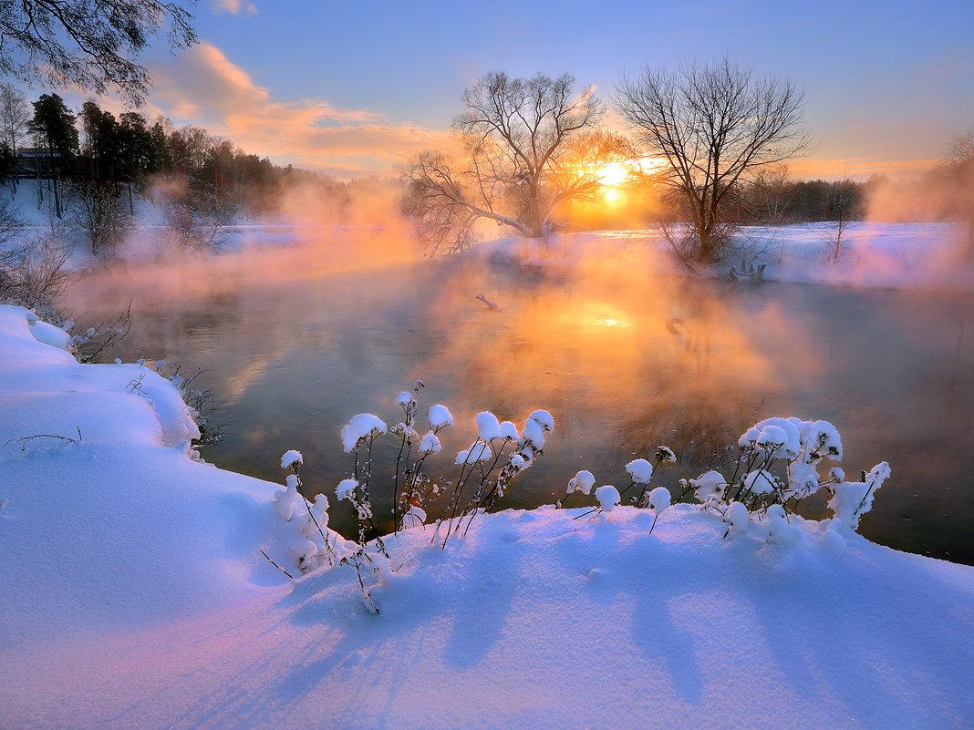 Очень морозный закат... - Андрей Войцехов