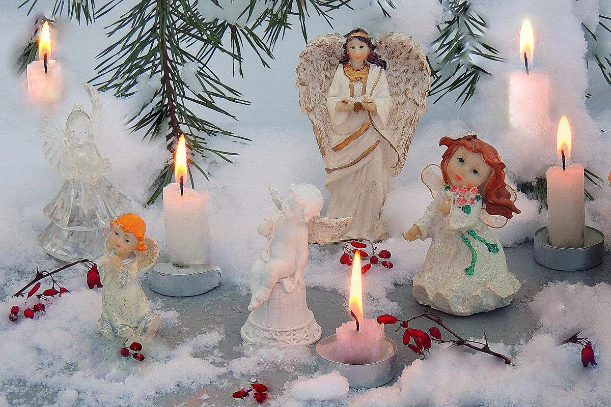 Ангелы и свечи - Павлова Татьяна Павлова