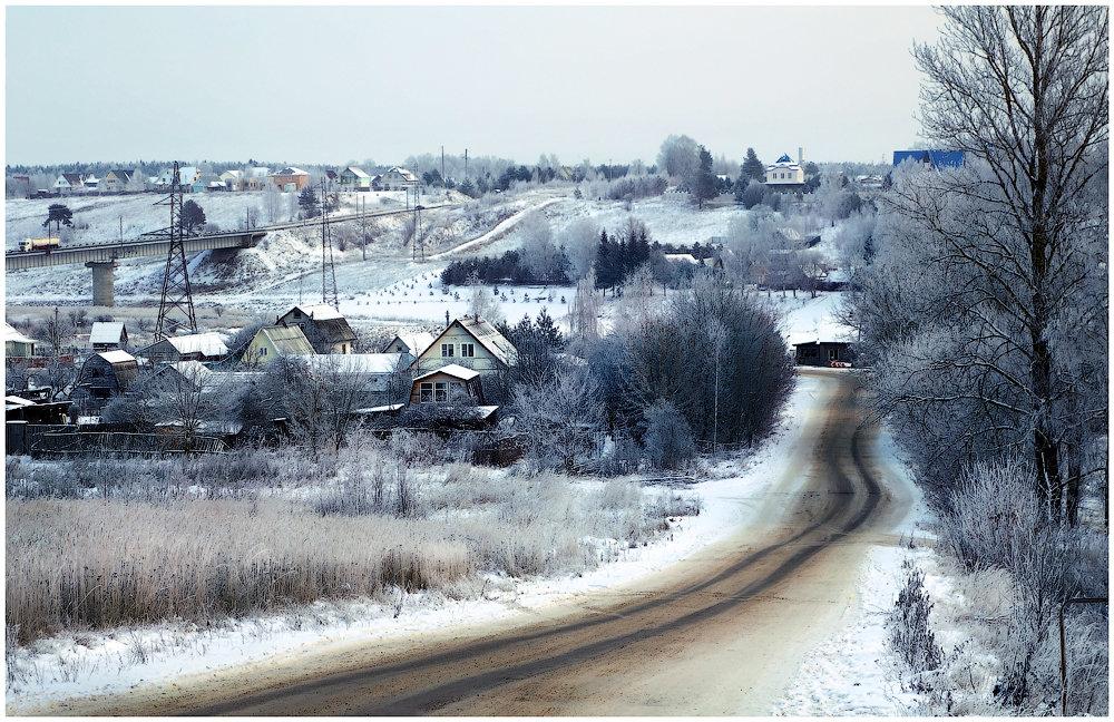 Зимняя дорога - Ирина Абрамова