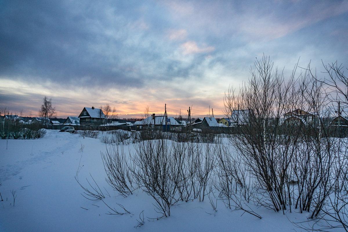 Зимний вечер (2) - Pavel Kravchenko