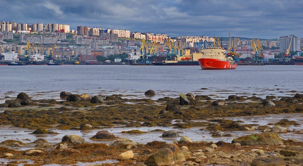 Мурманск. О том как, и где отдыхают арктические ледоколы. - kolin marsh