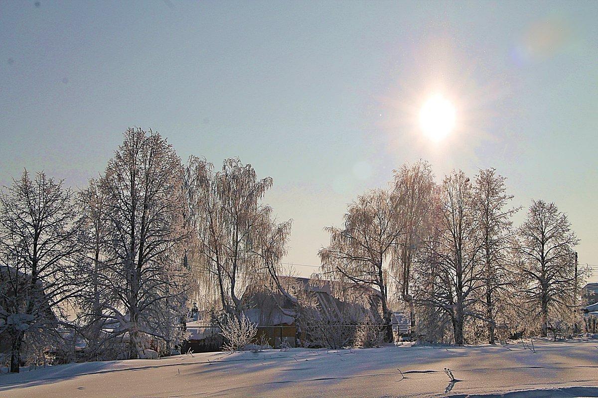 Зимнее солнце. - Любовь