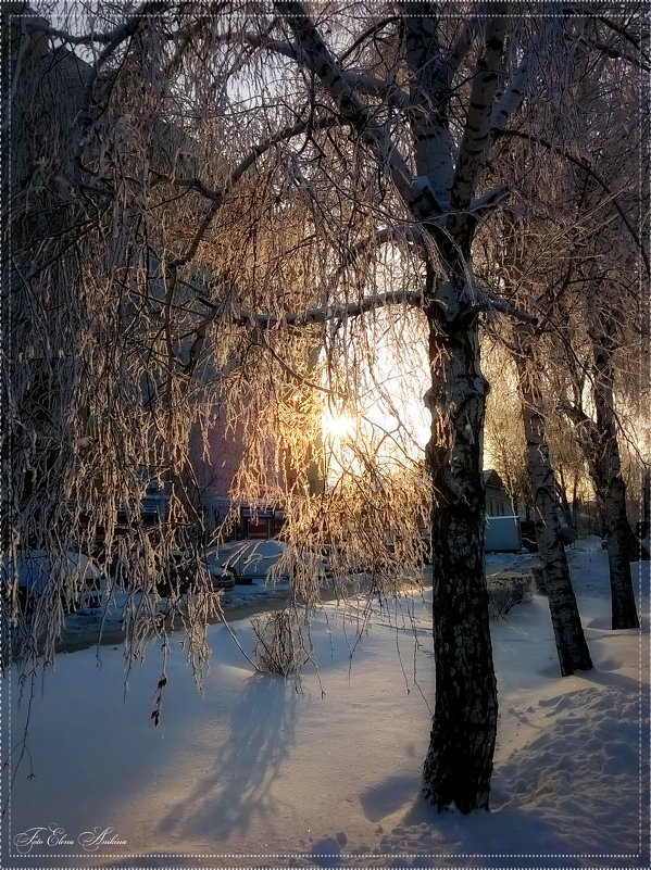 Мороз и солнце! - °•●Елена●•° Аникина♀