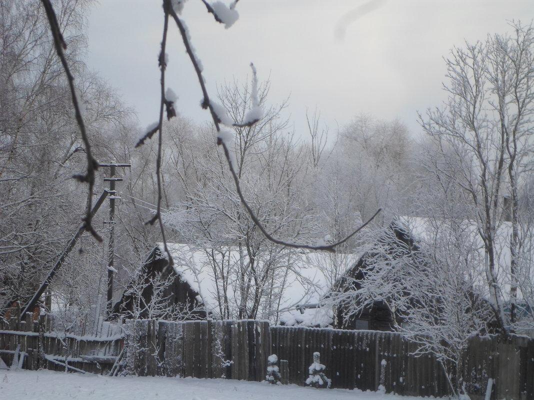 Зимняя деревенька - BoxerMak Mak