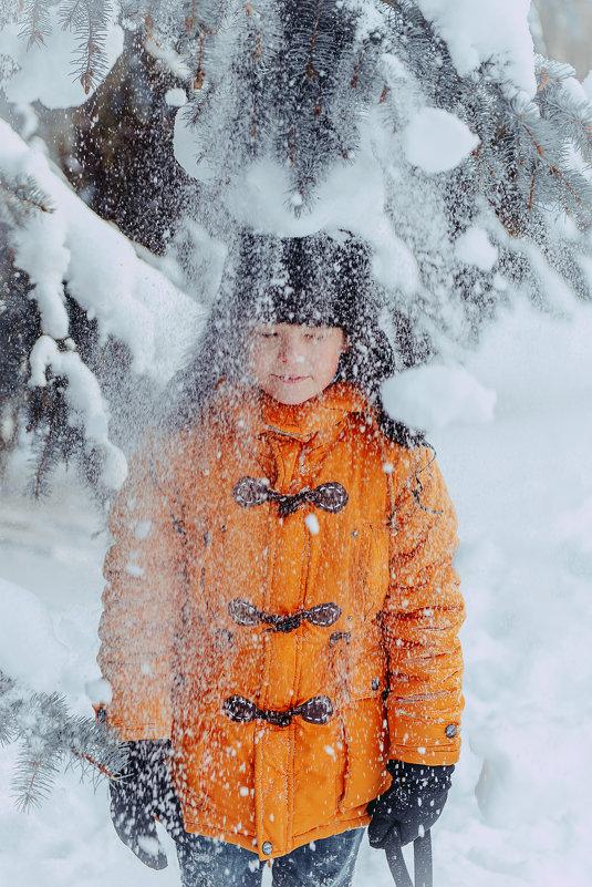 Снежный душ))) - Ольга Шульгина
