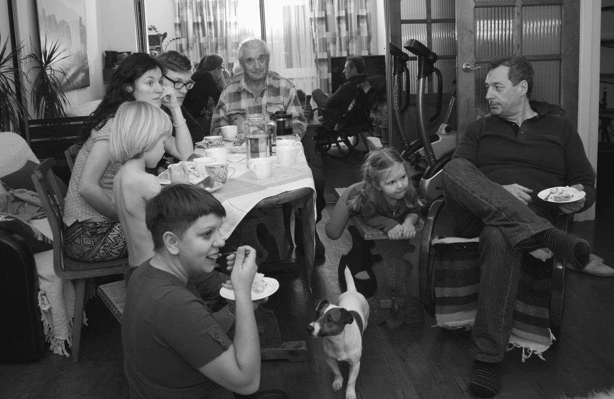 Большая семья. - Larisa Gavlovskaya