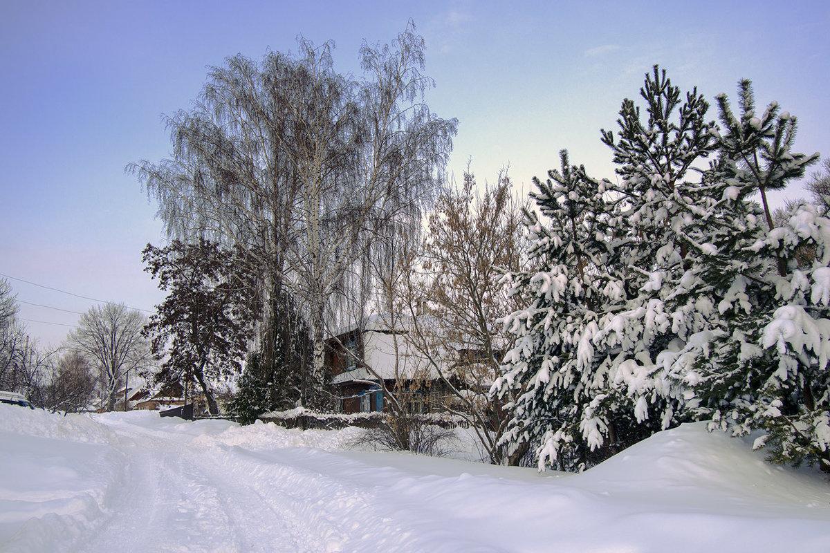 После снегопада - Ольга П